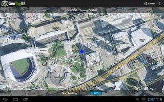 Screenshot of GeoTag It!