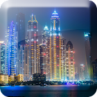 Noche Dubai Live Wallpaper icon