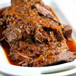 Slow Cooker Barbecued Beef Brisket.