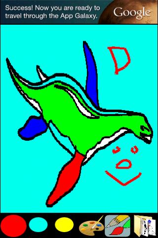 Coloring for Kids - Dinosaur- screenshot
