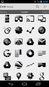 Tha Black Krom - Icon Pack v3.6
