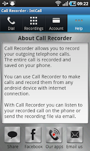 Call Recorder - IntCall - screenshot thumbnail