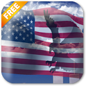 USA Eagle Live Wallpaper Free icon