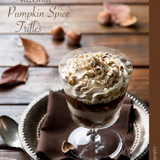 Hazelnut Pumpkin Spice Trifles