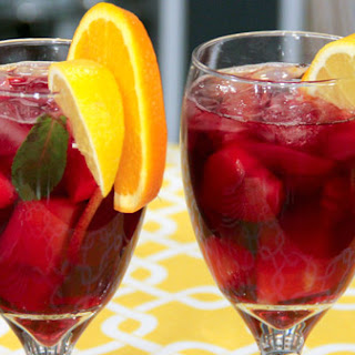 Strawberry Melon Sangria