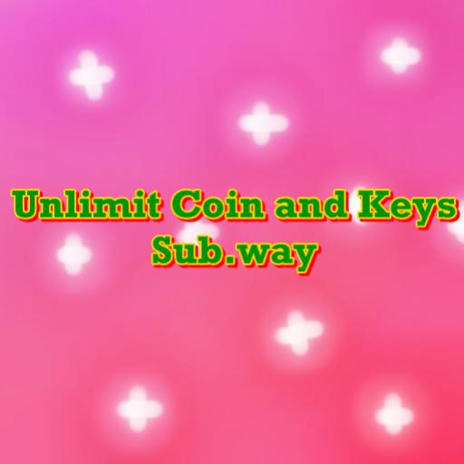 Unlimit Coin and Keys Sub.way LOGO-APP點子