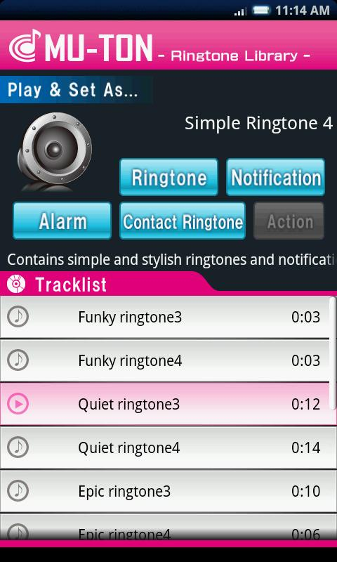 simple ringtone library4 android apps on play