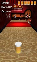 Screenshot of Beer Pushing Game 3D