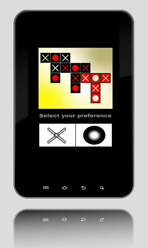 T3 - Tic Tac Toe via bluetooth- screenshot