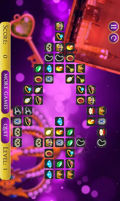 Jewels Connect Mahjong Free - screenshot