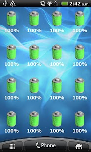 Battery Widget- screenshot thumbnail