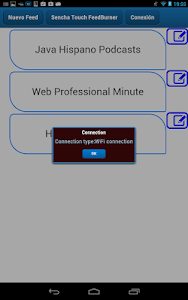SenchaTouch FeedBurner screenshot 21