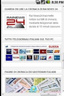 Ultime notizie Quotidiani e TV - screenshot thumbnail