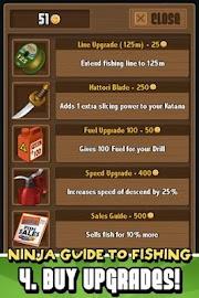 Ninja Fishing Screenshot 5