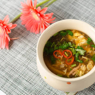 Authentic Hot and Sour Soup.
