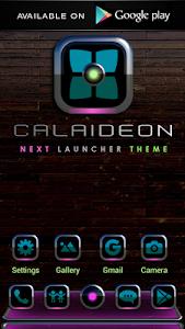 Poweramp Widget CALAIDEON v2.08