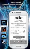 Screenshot of Receipt scanner - Num receipts
