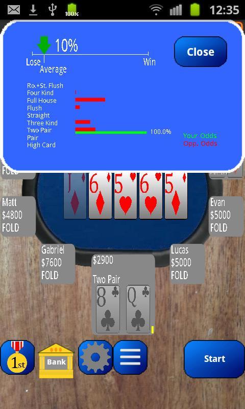 PlayTexas Hold'em Poker - screenshot