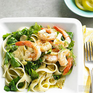 Lemon-Dill Shrimp & Pasta