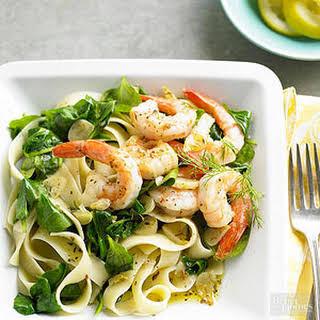 Lemon-Dill Shrimp & Pasta.