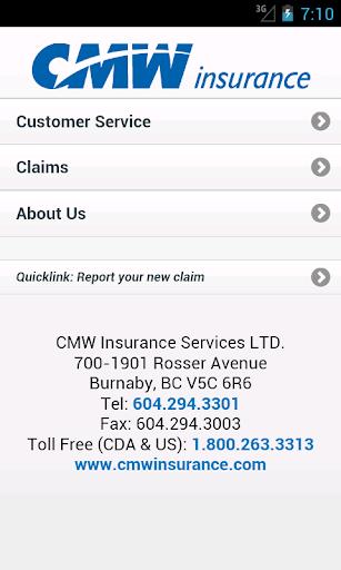 CMW Insurance LTD