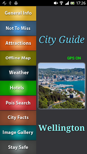 Wellington Offline Guide