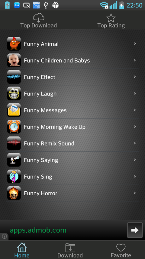 Funny Ringtones - screenshot
