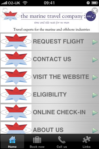 Marine Travel- screenshot