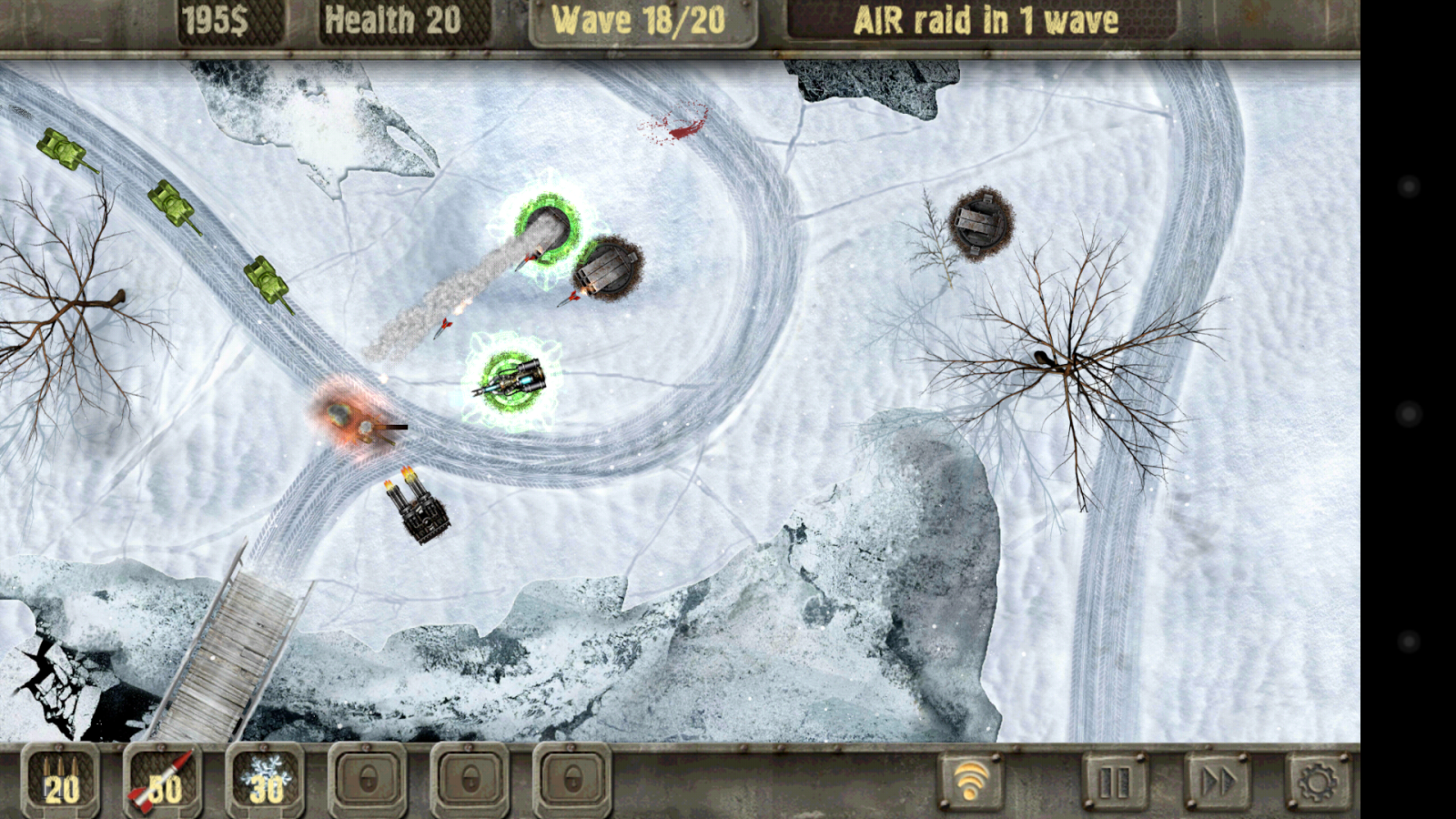 Defense zone HD Lite - screenshot