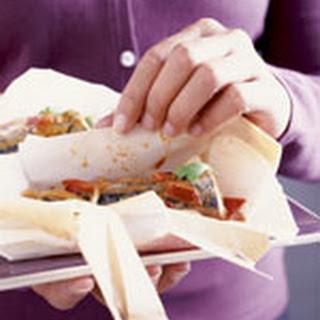 Pakketjes Van Pittige Makreel En Tomaat