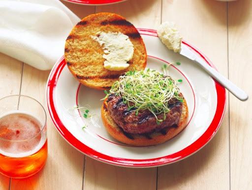 Beer And Bison Burgers