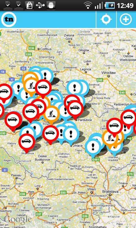 Dopravní informace tudyNE Free- screenshot
