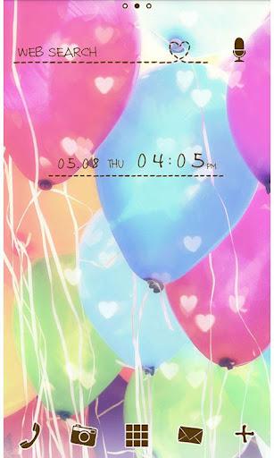 Cute Theme-Balloons- 1.0 Windows u7528 1