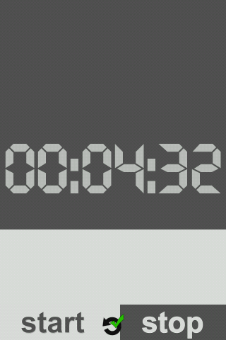 Graphic timer - screenshot