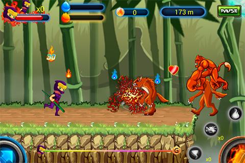 Ninja Fighting Devils