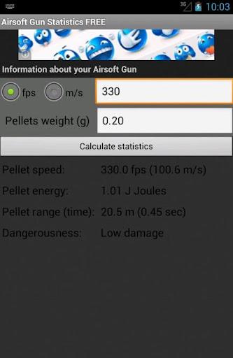 Airsoft Gun Statistics FREE