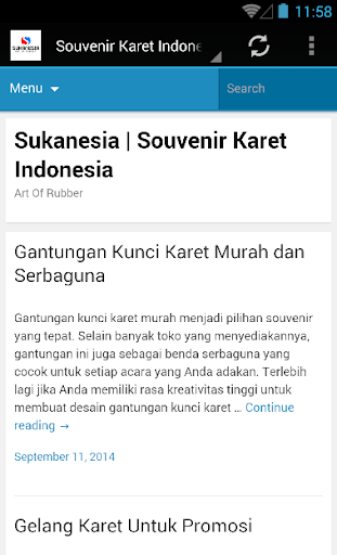 Souvenir Karet Indonesia