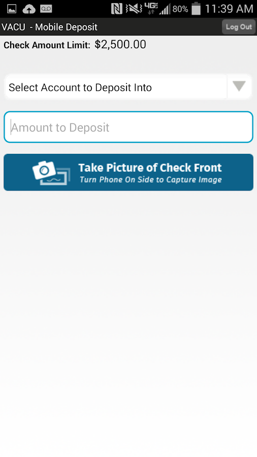 VACU Mobile Banking - screenshot