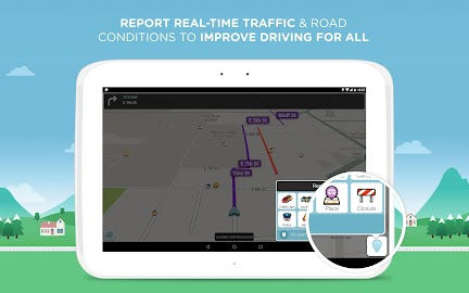 Waze Social GPS Maps & Traffic Screenshot 2