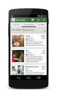 Kiva Search - screenshot thumbnail