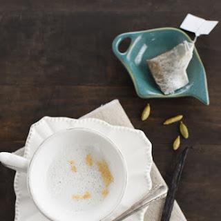 Cardamom-Vanilla Tea Latte.