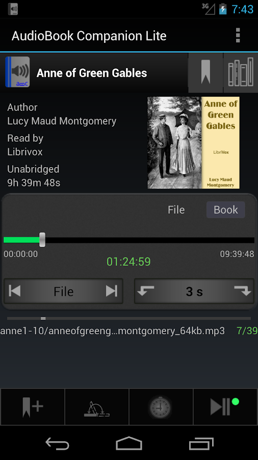 AudioBook Companion Lite- screenshot