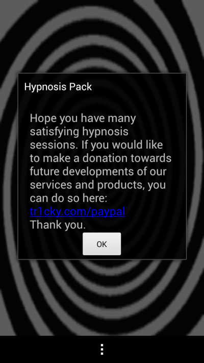 Hypnosis pack - screenshot