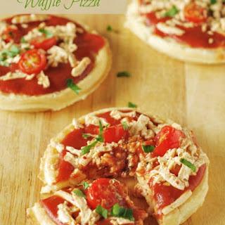 Waffle Pizza (Gluten-Free, Vegan)