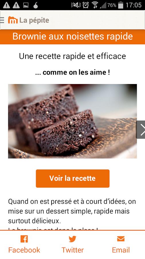 Marmiton : recettes de cuisine- screenshot
