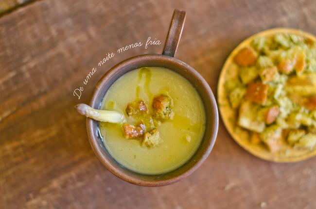 Asparagus and Mint Cream Recipe