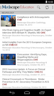 Medscape - screenshot thumbnail