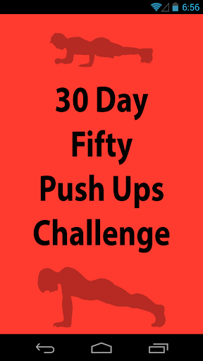30 Day Fifty Pushups Challenge