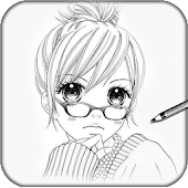 Download Learn to Draw Anime Manga APK on PC