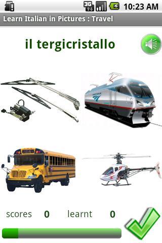 Italian in Pictures: Travel- screenshot